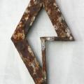 Fatum, 2005, teräs, 38x22cm