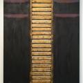Lähellä hiljaisuutta, 2004, akryyli kankaalle/puu, 138x98cm