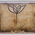 Memory, 2002, Öljy alumiinille, 47x62cm