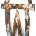 Truth, 2005, teräs, 40x27cm